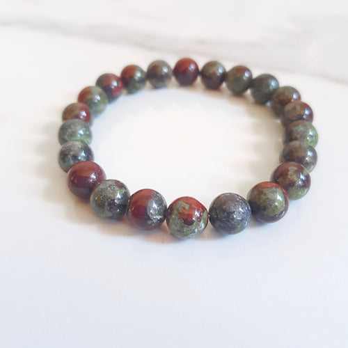 Stretch Bracelet - Bloodstone (OAK)
