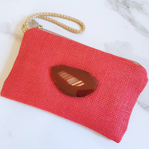Gemstone Wristlet - Red Agate (OAK)