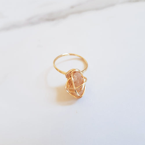 Chaos Ring - Citrine (OAK)