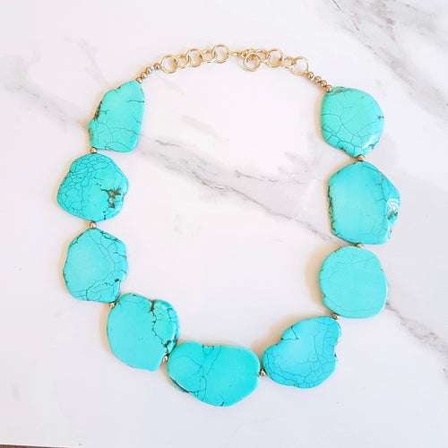 Grantley Necklace - Green Magnesite