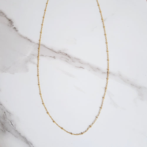 Satellite 18K Gold-Plated Chain