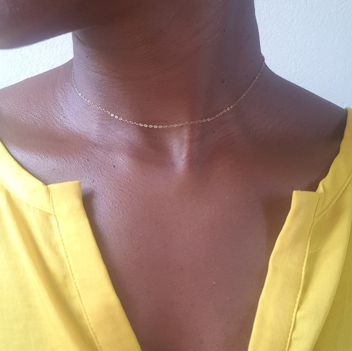 Plain Jane - Choker Chain