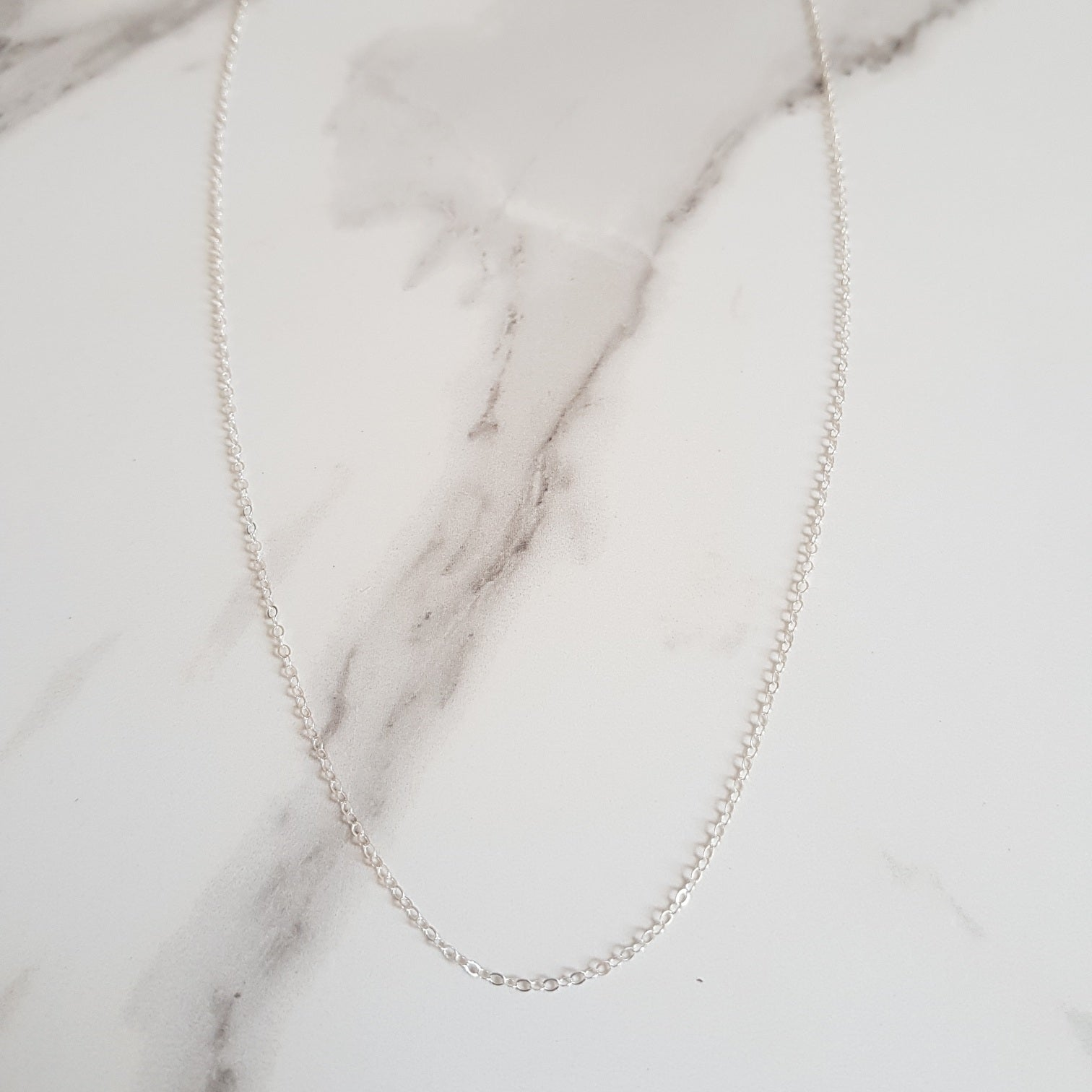 Sterling Silver Chain- LG Links