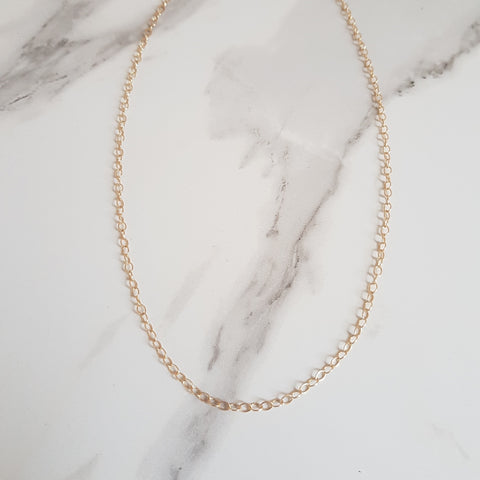 Satellite Sterling Silver Plated Chain