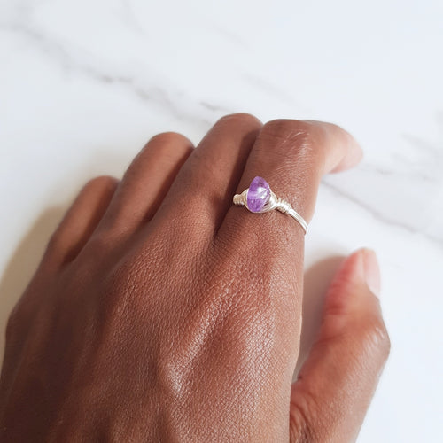Focus Ring - Amethyst
