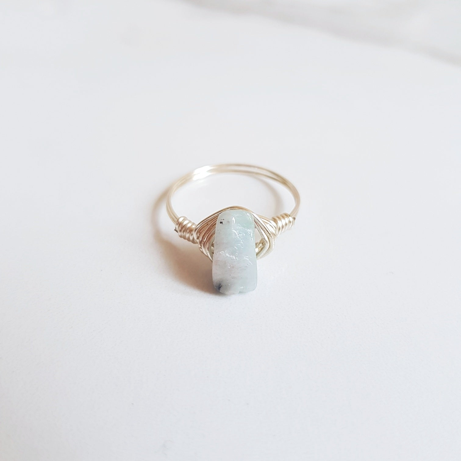 Tranquil Ring- Aquamarine
