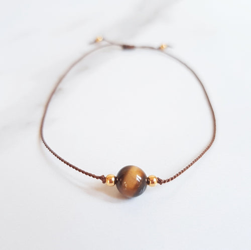 Nylon Bracelet (Minis)  - Tiger's Eye