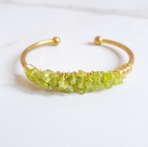 Mermaid Cuff - Peridot