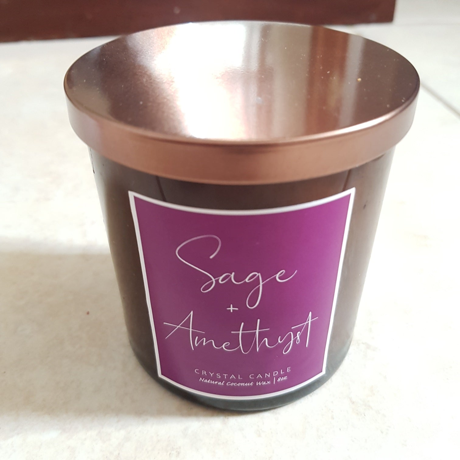 Sage & Amethyst Candle