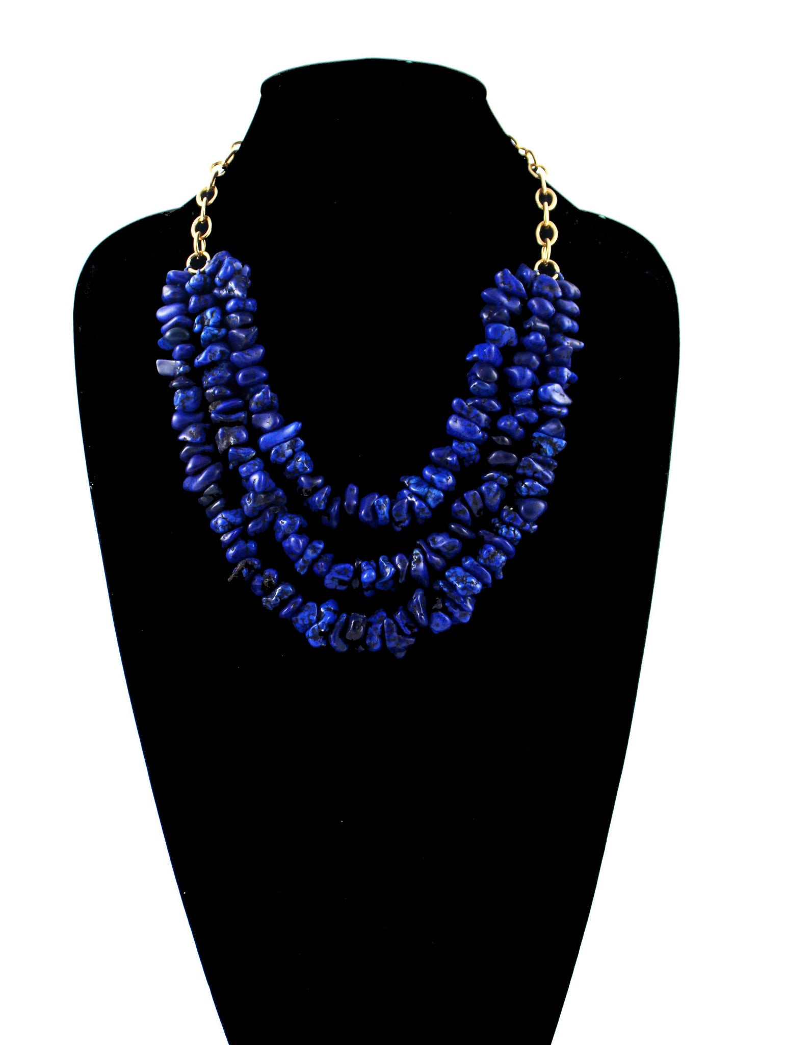 Barclay Necklace - Blue Magnesite