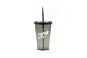 Corvus Tumbler with Straw