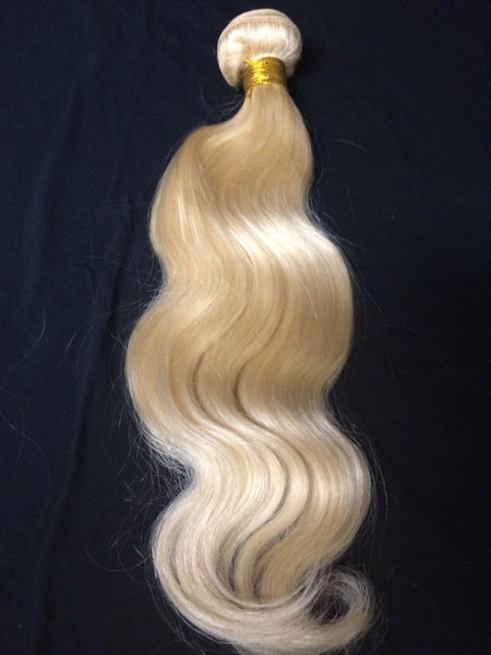 Russian Blond 613 grade 5A bodywave