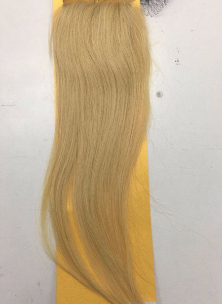 Russian blond 613 strait  Closure grade 6A