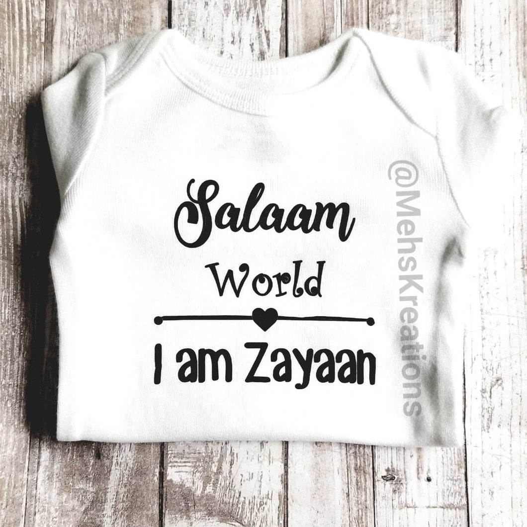 Salam World Bodysuit