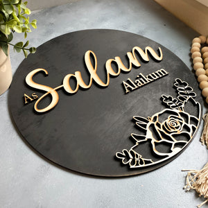 muslim home decor salam door sign isalmic gifts muslim housewarming gifts salaam door wreath door decor muslim kids muslim mom muslim home muslim gifts islamic gifts islamic mom isalmic kids as salam alikum door sign