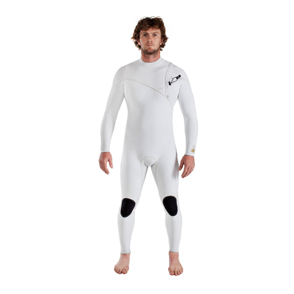 A7 Zipperless Fullsuit - Arctic White