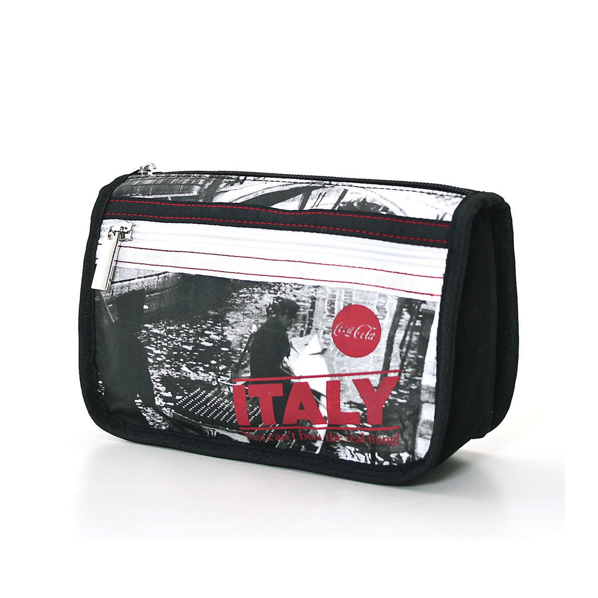 bc264804df2a Officaillay Licensed Coca-Cola Nylon Cosmetic Bag - Italy