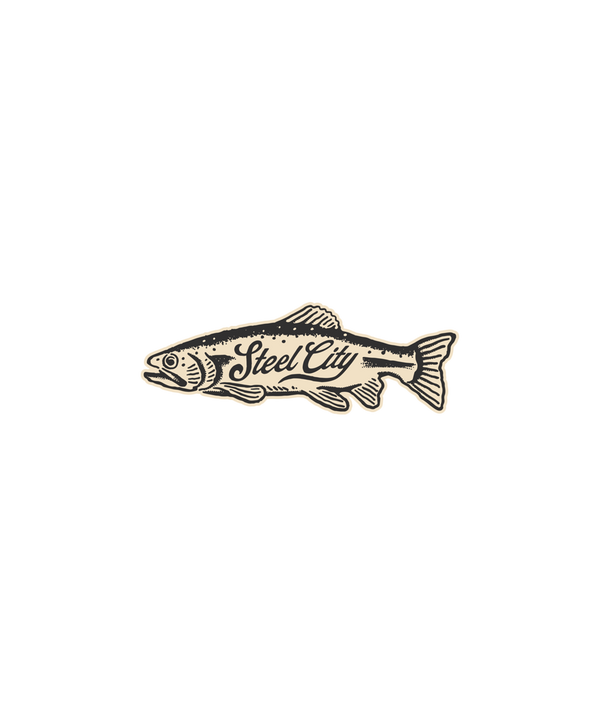 Steel City Fish Sticker