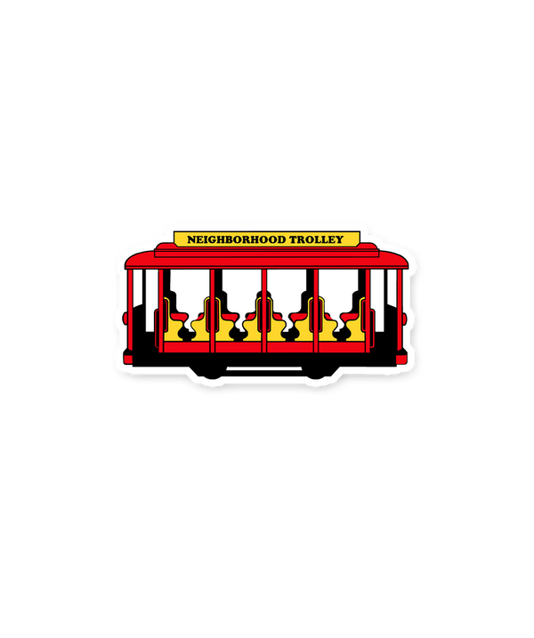 Trolley Sticker