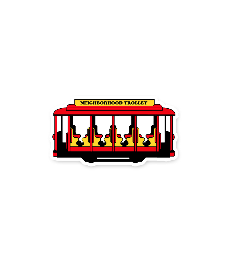 Trolley Sticker - Steel City