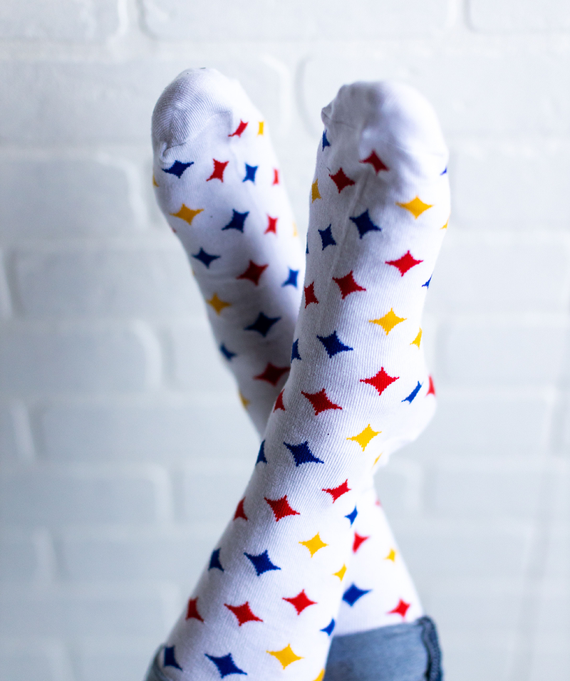 Multi Hypo Socks - White