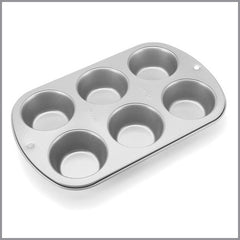 Wilton - Molde para Muffins y Cupcake de 6 cavidades | Art and Craft Shop