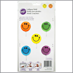Wilton - Molde para paletas caras sonrientes | Art and Craft Shop