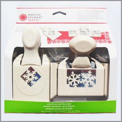 Martha Stewart Crafts - Set de Punch alrededor de página - Nieve de Invierno | Art and Craft Shop