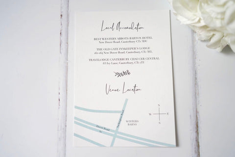 Modern Elegant Minimal Wedding Invites