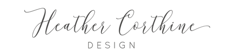 Heather Corthine Design Logo