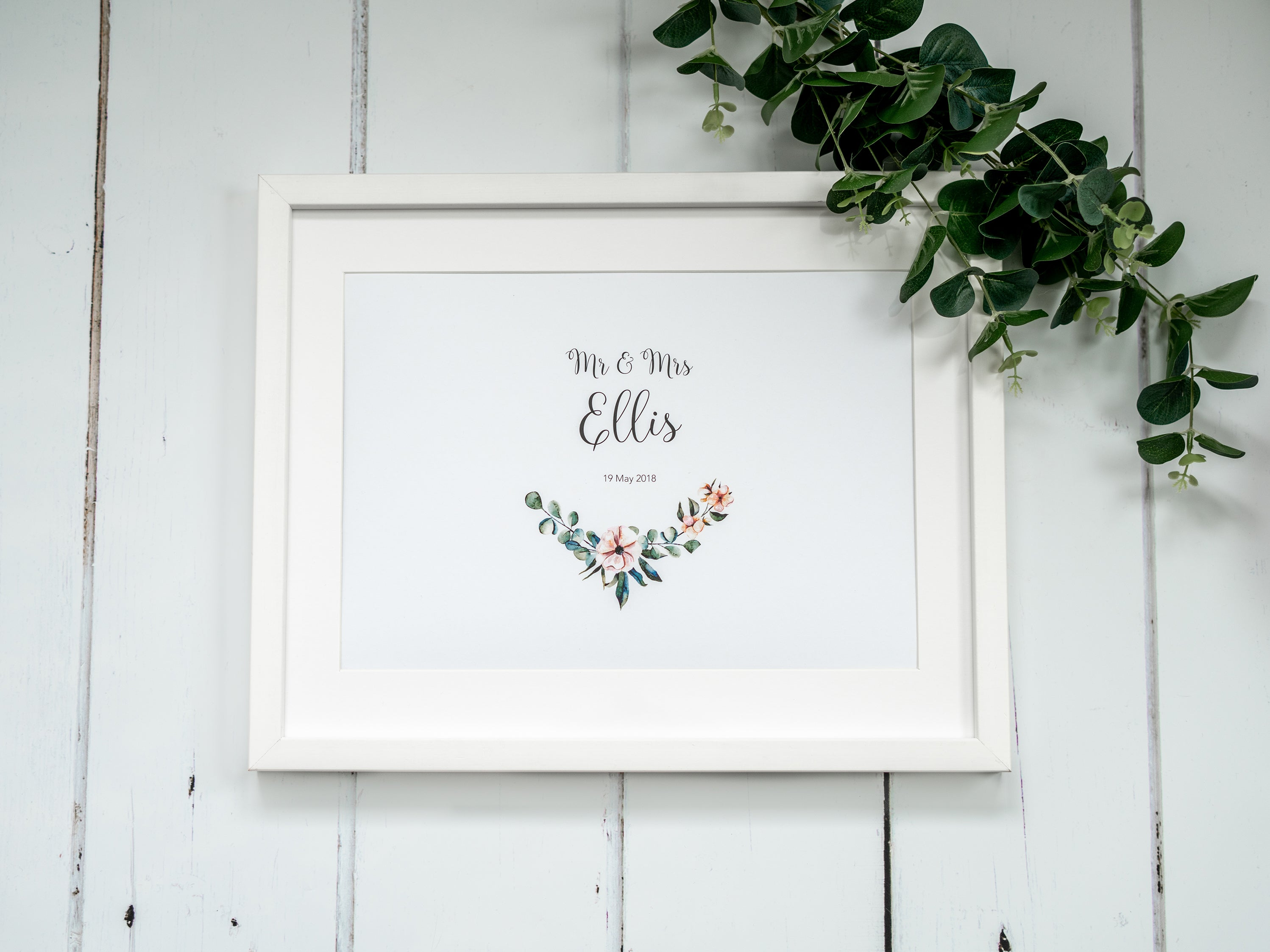 Personalised Wedding Present