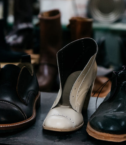 NICORA SHOES vegan repair shop