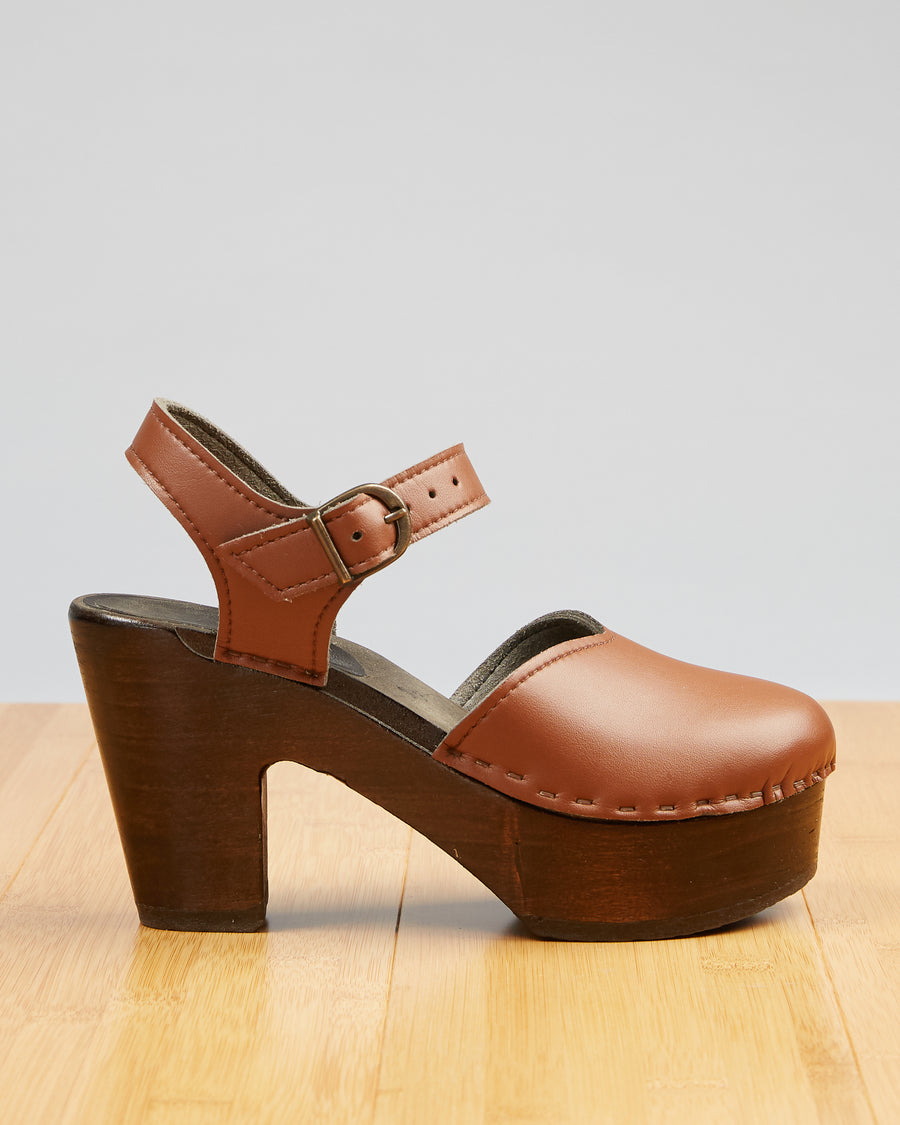 Vegan Leather - Saddle Brown (luxury)