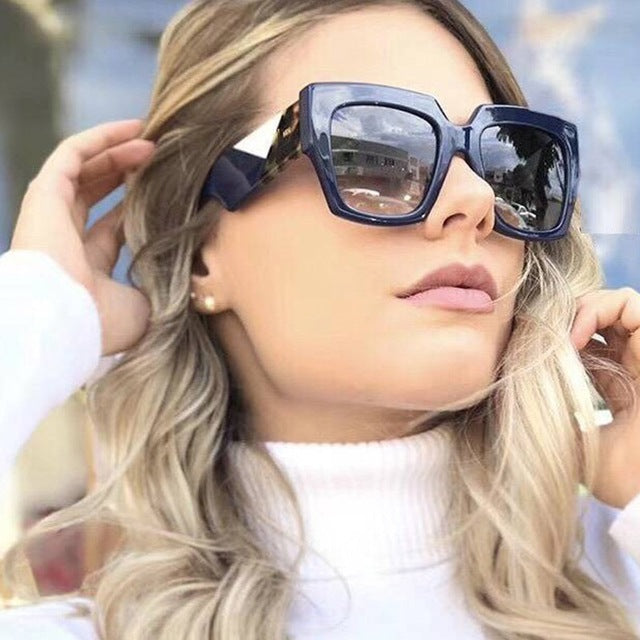 62e83516be800 Karly - Cat Eye Oversized Sunglasses 60mm – Babes Love Shades