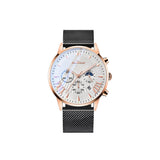 Six-pointer Calendar Men's Watch