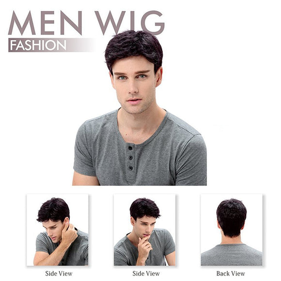 Men's Short Wig (black)