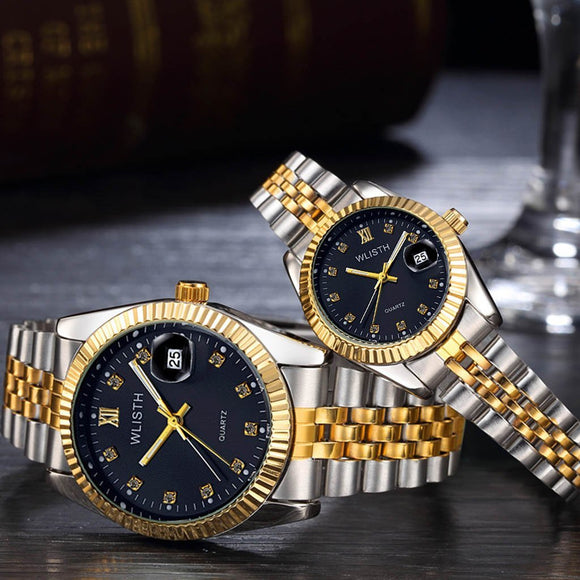 WLISTH Couple's Quartz Watches