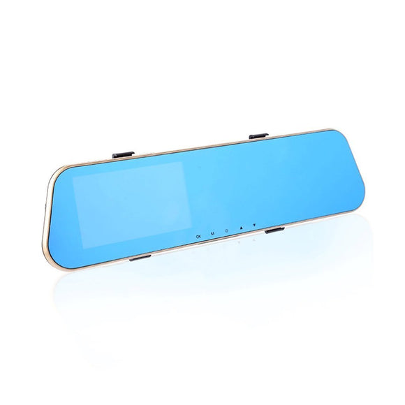 Rearview mirror traffic recorder