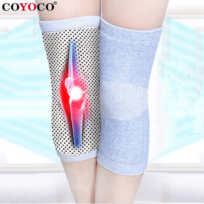 Self Heating knee Pads Support 1 Pcs Tourmaline Sport Knee Brace Warm for Arthritis Joint Pain Relief and Injury Recovery
