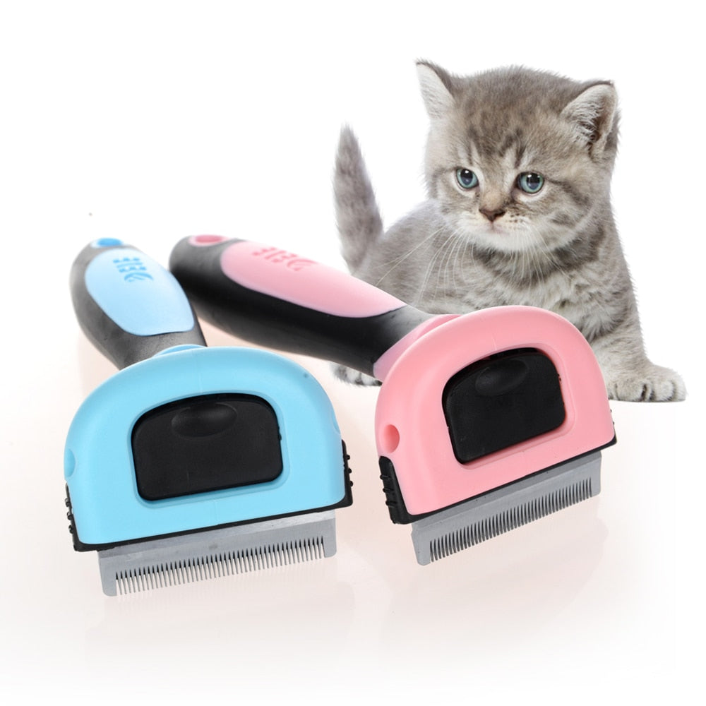 Dog Hair Remover Cat Brush Grooming Tools Detachable Clipper Attachment Pet Trimmer Combs
