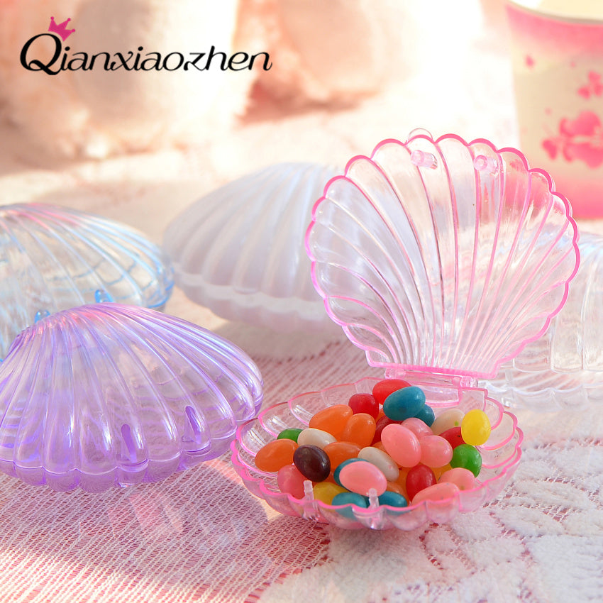 Wedding Favor Shell Box Wedding Candy Box Qianxiaozhen And Gifts Wedding Decoration 10pcs