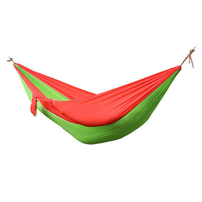 Single Double Hammock Adult Outdoor Backpacking Travel Survival Hunting Sleeping Bed Portable