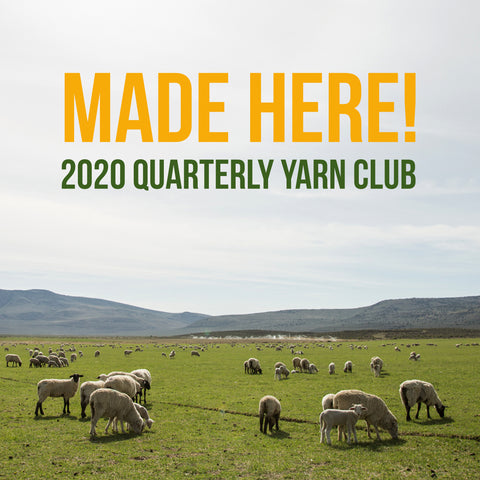 2020 Made Here! Yarn Club