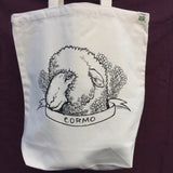 Individual Sheep Breed Organic Cotton Tote Bag