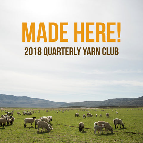 2018 Made Here! Yarn Club