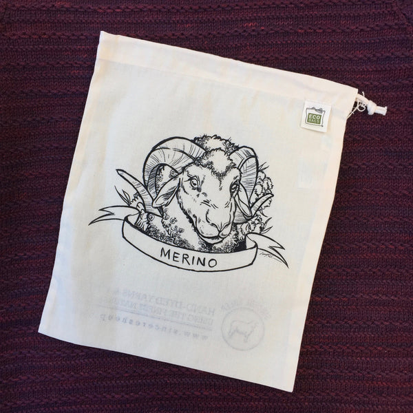 Merino Organic Cotton Project Bag