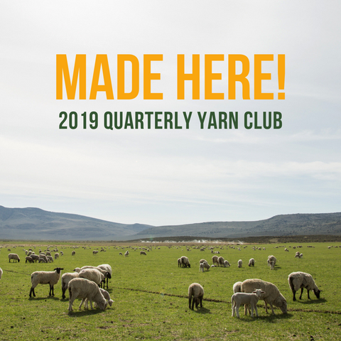 2019 Made Here! Yarn Club