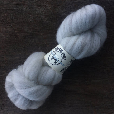 "Merino X ""Hazel"" and Mohair Roving"