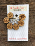 Wood Stitch Markers