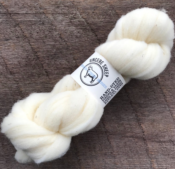100% California Rambouillet Roving